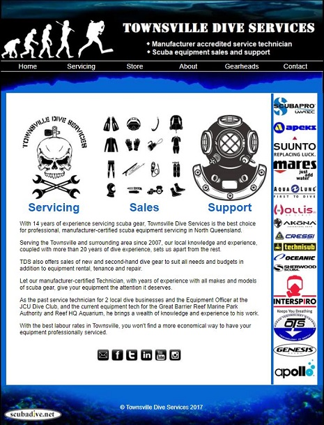 please click here to visit townsville dive services for more information on scuba equipment servicing and sales