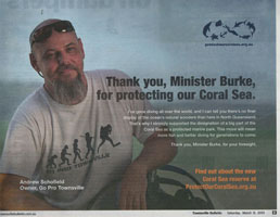 Protect our Coral Sea