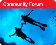 the Ministry of Diving community forum