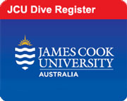 JCU Dive Register information