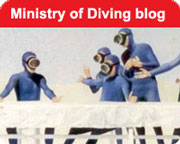 the Ministry of Diving blog